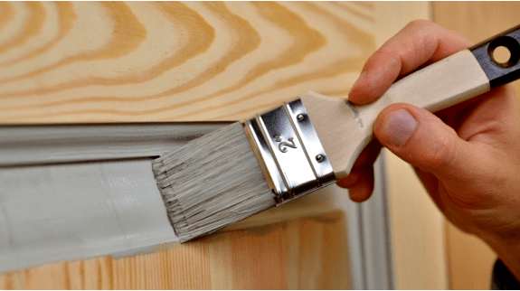 Фарбування дверного блока з матеріала замовника