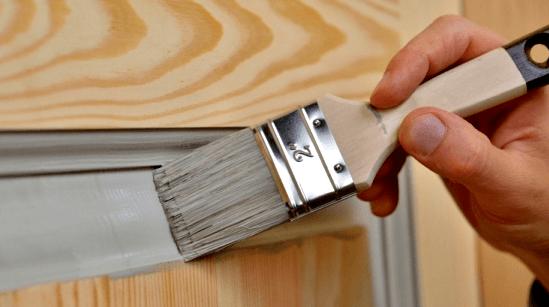 Фарбування  дверного блока