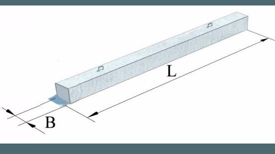 Палі залізобетонні попередньо напружені типу ''ПН''  (Робочі креслення №1032-0-1)