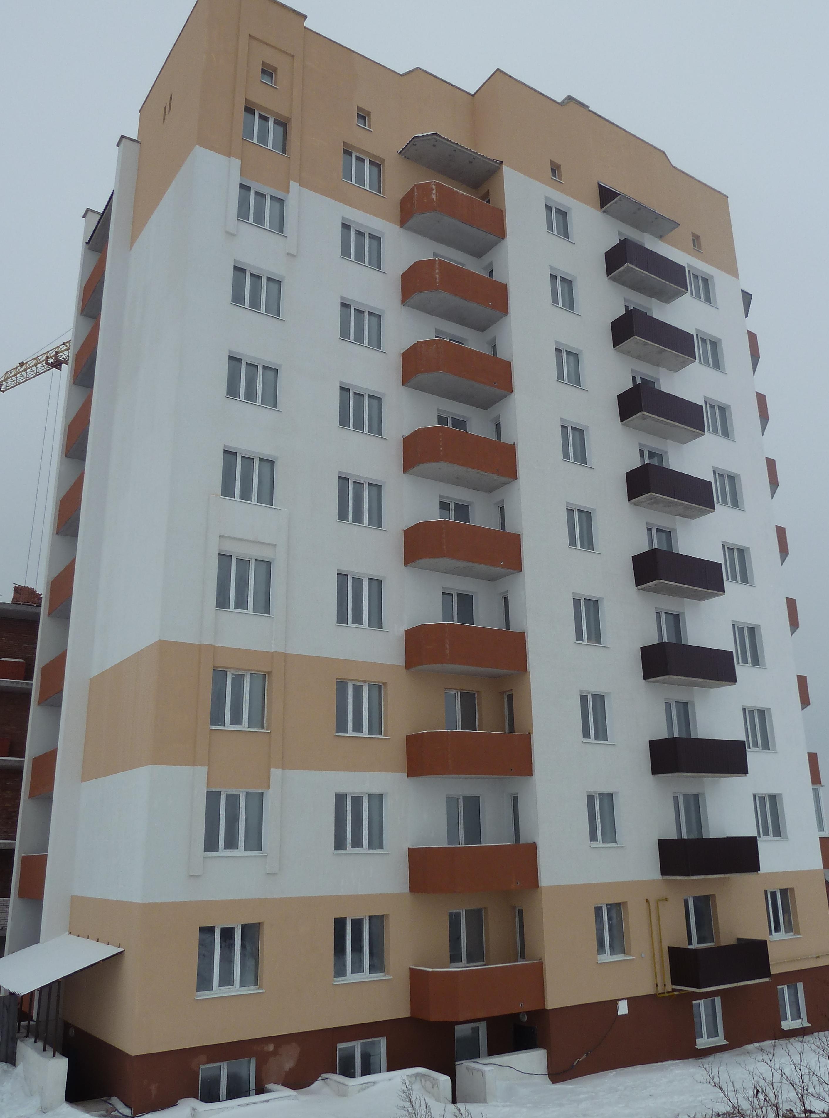 108-ми квартирний житловий будинок з вбудованими магазинами та офісами