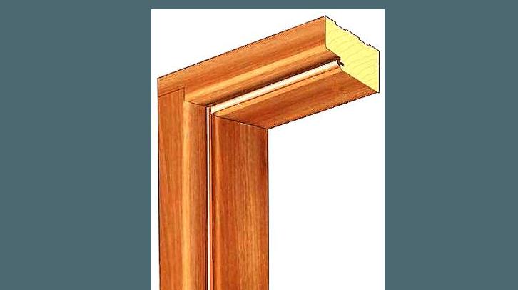 Дверна коробка К9 (351-400х55)