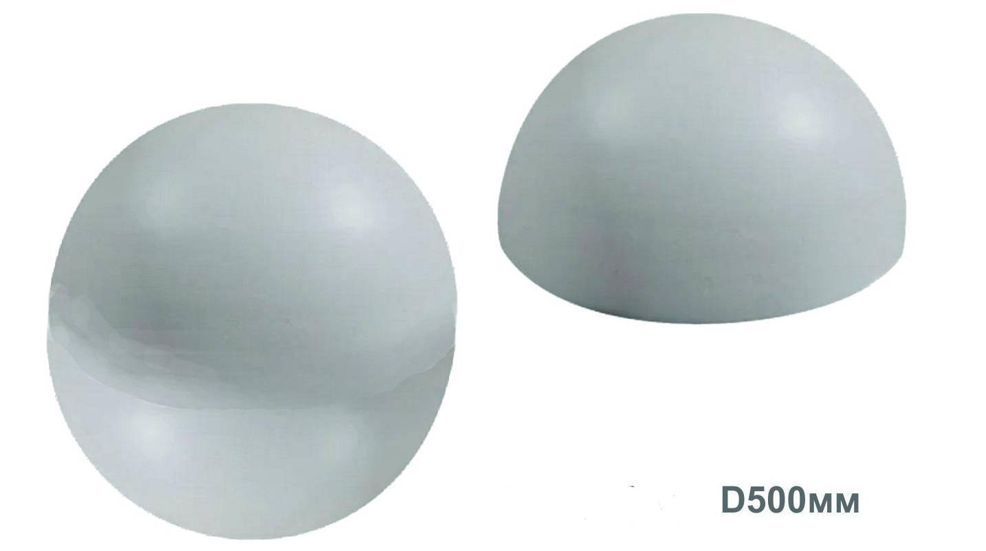 Антипарковочна куля та напівсфера