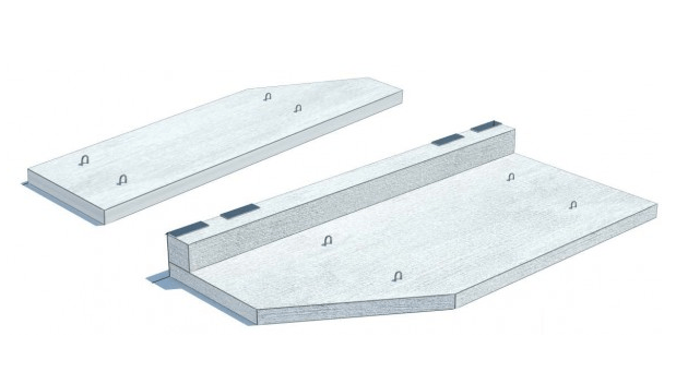 Плити балконів залізобетонні
