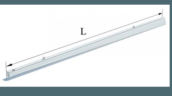 Стояки залізобетонні попередньо напружені (Робочі креслення арх. №1н,  робочі креслення 5697-СВ-1)